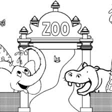 Small Picture Coloring Pages Zoo Animals Preschool Archives Mente Beta Most
