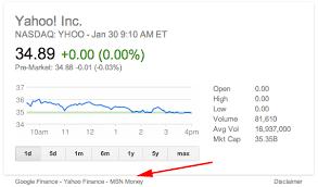 Google Finance Stock Quotes