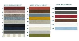 Linen Weight Chart Flax Sample Chart Lifeinlinenstudios Color Choices For Bedding European Linen Fabric Swatch Catalog Custom Color For Reference Only