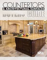 Integra Glue Chart Silestone Isfa Countertops Architectural Surfaces Buyers Guide 2010