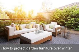 to protect garden furniture over winter