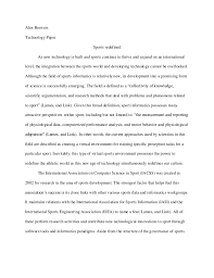 essay about sports sample essay on examples of gender sports informatics essay