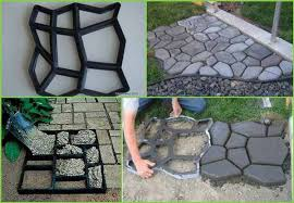 Small Picture 25 Lovely DIY Garden Pathway Ideas