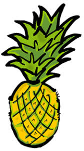 pineapple clipart black and white. pineapple clip art black and white free clipart