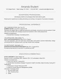 Resume For College Student 50041 Milesofmulesorg