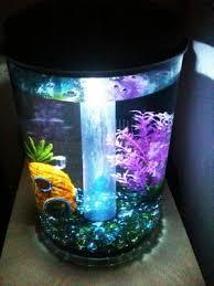 fish tank lighting ideas.  fish hawkeye 3 gallon 360 view aquarium kit with led lighting and natural  biological filtration 95 inside fish tank ideas n