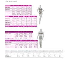 Chloe Dress Size Chart Mondor Sizing Chart