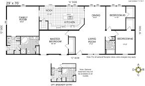 modular homes floor plans. Buccaneer Manufactured Homes Floor Plans Modular L