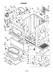 kenmore wiring diagram dryer kenmore image wiring kenmore electric dryer parts model 11060912990 sears partsdirect on kenmore wiring diagram dryer