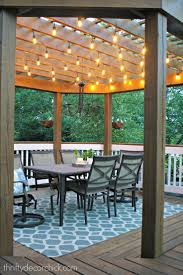 blog 3 deck accent lighting. our beautiful outdoor dining room blog 3 deck accent lighting g