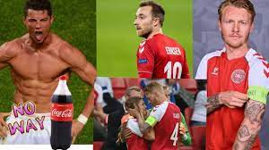 Cristiano Ronaldo hates Coca Cola + Christian Eriksen updates + Simon Kjaer  Super Hero - YouTube