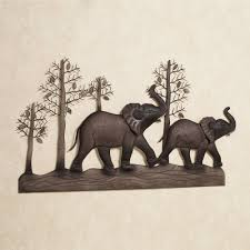 >elephant metal wall art