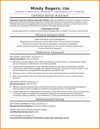 Sample Dentist Resume 60 dental resume sample business opportunity program 49