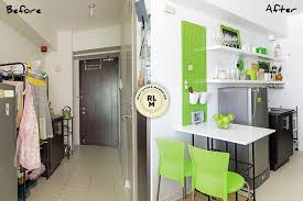 Living Area, Kitchen, and Bedroom Makeovers in a 21sqm Condo. Interior  designer ...