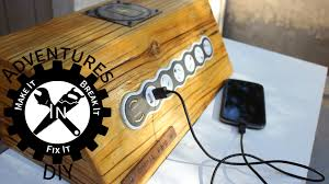 Make Charging Station Building Charging Stations For Mobile Devices Youtube
