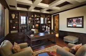 traditional office design. Superstition Mt. Residence American-traditional-home-office Traditional Office Design D
