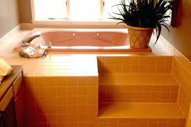 bathtub reglaze cost shower fiberglass shower in bathroom shower
