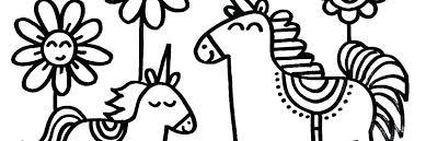 Cozy Eenhoorn Kleurplaat Kleurplaten Eenhoorn Paarden Ofertasvuelo