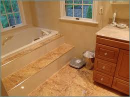 steps are a hazard to getting into a soaking tub unless you have a palatial bath with stairs that run the length of the room the tub sits on a dais