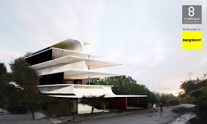 intersecting planes architecture. the h_34 apartment block was awarded in 8th greek architecture biennale. it is located a 700m2 plot voula area 80m from sea. intersecting planes