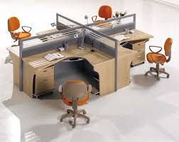 oval office layout. Smart And Exciting Office Cubicles Design Ideas : Cool X Cubicle Workstation Layout With Gray Oval E