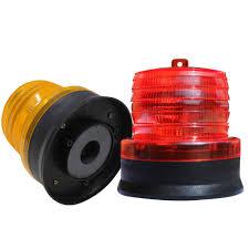 Strobe Indicator Light Solar Strobe Signal Led Warning Light Waterproof 12v 120ma