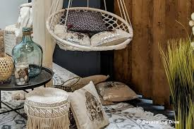 boho chic style at home decorating