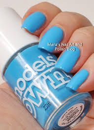 Marias Nail Art and Polish Blog: Models Own swatches: Feeling Blue ...