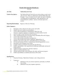 Medical Administrative Assistant Resume Template With Judicial Clerk
