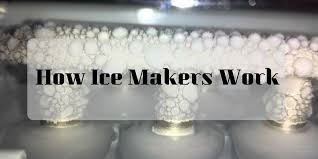 how does a portable ice maker work