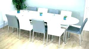 8 person dining table square with bench seats round extendable ta
