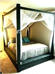 full size white canopy bed – house decore site