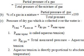 total pressure equation. applications of dalton\u0027s law partial pressure (a) mole fraction a gas in mixture total equation