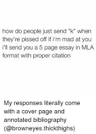 ✅ best memes about annotated bibliography annotated  formation covers and mla format how do people just send k
