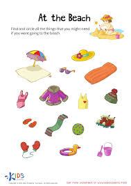 Sorting worksheets for preschool and kindergarten