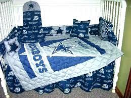 cowboys bed set crib bedding sets bedroom baseball cowboy deluxe dallas twin cowb