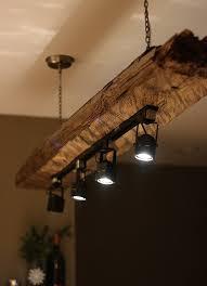 track light chandelier