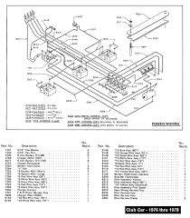 electric club car wiring diagrams club car wiring diagram gas at Club Car Schematic Diagram