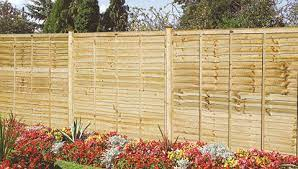 garden treated fence panels fencing