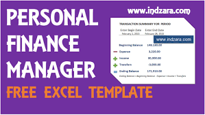 Personal Finance Manager Free Excel Budget Template V2 Product