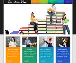 Templates For Education 40 Best Education Html Website Templates Ginva