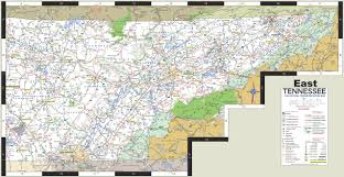 map of east tennessee