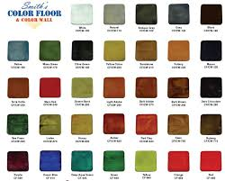 Miracote Color Chart Smiths Color Floor Concrete Stain