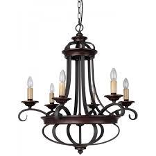columbus rustic iron chandelier 6 light wrought rustic iron chandelier5