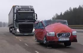 2018 volvo semi.  volvo volvo fh globetrotter emergency brake demo static vehicle in 2018 volvo semi