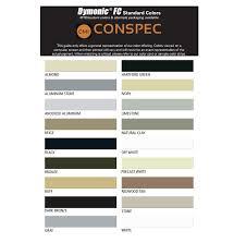 Vulkem 116 Color Chart Tremco Dymonic Fc Hybrid Polyurethane Sealant 10 Oz Tube Conspec