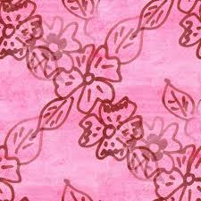 Naadloze Textuur Roze Blad Aquarel Bloemen Behang Stockfoto