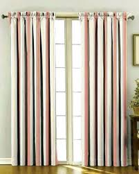 orange and white striped curtains orange and white rugby stripe curtains image concept
