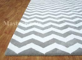 zig zag area rugs chevron gray white 8 x handmade 0 wool soft area rug carpet