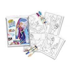 Crayola Disney Frozen Mess Free Color Wonder Coloring Pages